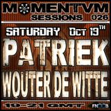 Momentvm Sessions 026 - Patriek and Wouter de Witte - 2013-10-19