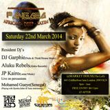 Aluku Rebels Promo Mix for PANGAEA EVENT( 22nd March 2014 @Market House ,London,SW9 8LN)