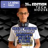 Joan Barrera DJ - Crazy Sounds Radio Show 35 @LaSeniaRadio