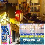 Dj Venus live 17 giugno 2018- Roofless Bogliasco 80 party style
