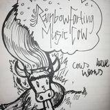 Rainbow Farting Music Cow!