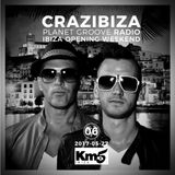 Crazibiza Radioshow - 06 (Live @ Km5, Ibiza)