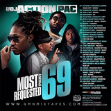 "DJ ACTION PAC - MOST REQUESTED 69 "" 2017 """
