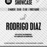 "RODRIGO DIAZ ""Innertek Recordings"" SHOWCASE (Vibes Radio) 03/03/2013"