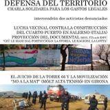 17/06/02 Resistencias urbanas y defensa del territorio: Giú la mani dal porticciolo y Torre66 MAT
