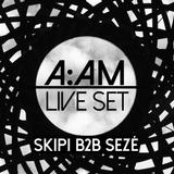 01.SKiPi b2b SEZÉ AAM-BunnyMoving-Live Set @Plza Camacho16-09-14