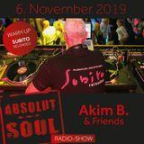 Absolut Soul Show /// 6.11.2019 on SOULPOWERfm