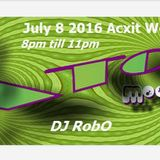 ATOMIX + with Dj Robert Ouimet (RobO) July 8 2016 Acxit Web Radio