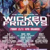 Wicked Fridays Opening Party. Waters Beach Lounge and Grill. Vagator. Goa. India. 21-11-2014