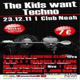 Scheich & Schabernack @ THE KIDS WANT TECHNO - Atrium / Club Noah Gotha - 23.12.2011