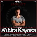 Akira Kayosa - Intricacy, Los Angeles, 12th October 2018 11PM-2AM