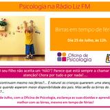 Oficina de Psicologia - Dr.ª Claudia Vitorino - Birras de crianças