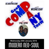 """GOOD COMPANY SHOW"" DIRTY DEN & CASS MANHATTAN Live @ DEJAVUFM.COM 20/01/16"""