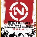 J Majik B2B Wickaman @ One Nation (Valentines B2B Special 2007)