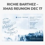 Richie Barthez – Vocal Booth Weekender/Body People - Xmas Reunion Dec 17