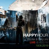 Happy Hour Live by Woofer & Oleg Uris 19.09.2019 Kiss FM