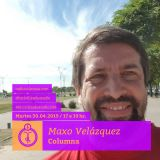 Maxo Velázquez. Columna Bicivilizados Radio 208