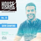 House Intervention Vol.25/Mixed by Gavin Crawford