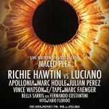 Richie Hawtin vs. Luciano - Live @ ENTER.Main Space Ibiza (Spain) 2014.07.17.