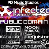 David McQuiston - Promo Mix for PD Music Studios - Infected Records Night 27th July, NewMarket, Ayr
