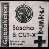 Sascha & Cut-X  BunkerLive 23.07.1993