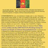 :At-sik-hata :Nation of :Yamassee Moors Fact-Finding for Peoples of African Descent:Conference Call