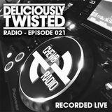 #DeliciouslyTwisted #RadioShow #021 #BigRoom #HouseMusic #RecordedLive on @TheChewb & @EssenceFMLive