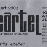 Dj Andy Mcloughlin (Kinky Movement), deep cartel @ the casbar, exeter, August 2002