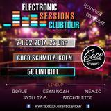 Electronic Sessions Clubtour - Live Session SEAN NOAH