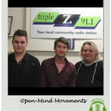 Interview with Open-Mind Movements 18 May 2017 on The Local - SA