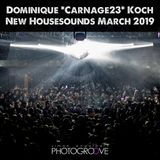 """Dominique """"DJ Carnage23"""" Koch - New Housesounds 03/2019"""