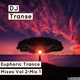 Euphoric Trance mixes Volume 2 Part 1