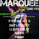 Daz Lockett Marquee Live On Identify Radio