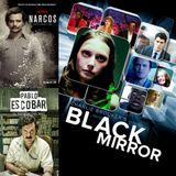 """Seriedependientes S02E24 - Hablamos de """"Black Mirror"""", """"Narcos"""" y """"El Patron del Mal""""."""