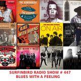 SURFINBIRD RADIO SHOW # 447 BLUES WITH A FEELING