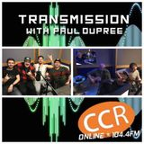 Transmission w/ Paul Dupree - guests Litter Of Kings + Fatality - 23/1/19 - CCR 104.4FM
