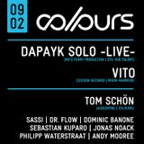 Dominic Banone @ COLOURS 09.02.2013 [Tanzhaus West, Frankfurt, Germany]