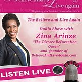 Stress Management - Believe and Live Again Radio Show with Zina A on Kent Christian Radio 15-09-2016