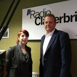 Steve Jones and Charlotte Love from ARCH Initiatives Wirral talk to Radio Clatterbridge