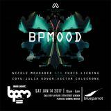 Nicole Moudaber b2b Chris Liebing - Live @ MOOD Blue Parrot The BPM Festival (Mexico) 2017.01.14.