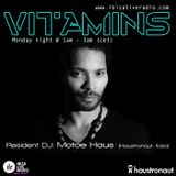 Vitamins ep80 - Motoe Haus - www.ibizaliveradio.com