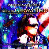 GERVAY BRIO Live Spinnin@ 2012.07.04 INDEPENDANCE PARTY/ZAZACLUB PARIS