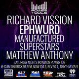 Powertools Mixshow - Episode 3-12-16 Ft: Ephwurd, Manufactured Superstars, & Matthew Anthony