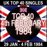 UK TOP 40: 29TH JAN - 4TH FEB 1984