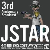 45 Live Radio Show pt. 73 with guest DJ JSTAR - 3rd Anniversary Broadcast