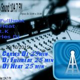 TECHNO SOUND 104.7 FM 2015-10-29 - SESSION  3DJ'S 25 MINUTES BY DJ