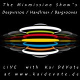 "Mixmission - Bargrooves ""Vinylset"" LIVE @ www.kaidevote.de - Techno Pool #070 06.04.2018"
