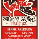 the pow wow weekender, Saturday afternoon party set. plus oscar lyndsay