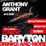 Into Deep 4 Bullets 4 Peace @ Baryton