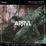 ARRVL radio showcase with Belms 07.09.19
